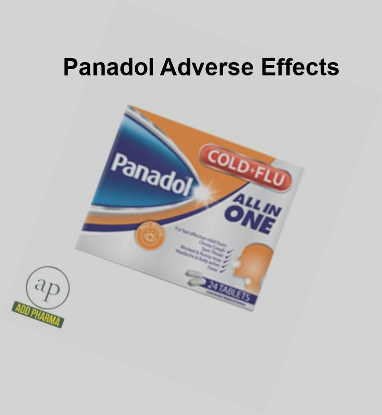 panadol adverse effects